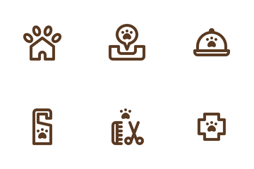 Pet Hotel Icon Pack