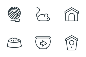 Pets & Accessories  Icon Pack