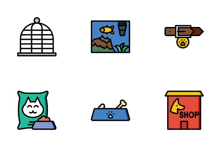 Petshop - Retro Icon Pack