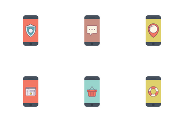 Phone Application Icon Pack
