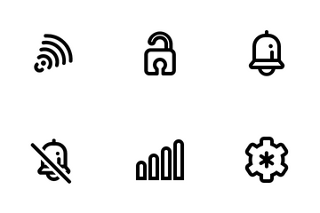 Phones Interface Icon Pack
