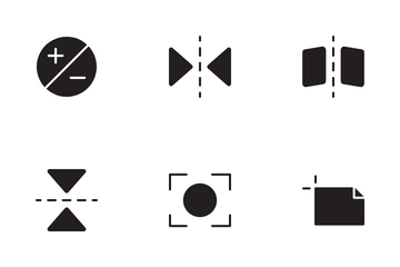 Photo Editing Icon Pack
