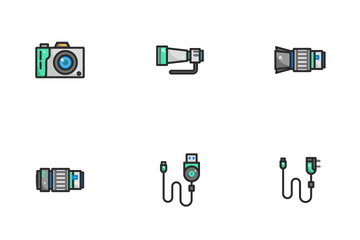 Photograph Icon Pack