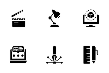 Photography And Printing Icon Pack