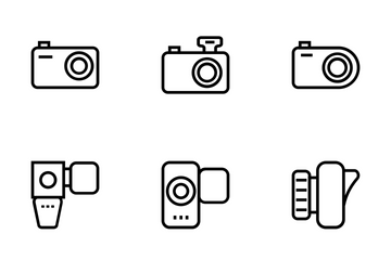 Photography Vector Icons Icon Pack