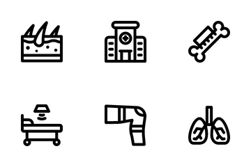 Physiotherapy Icon Pack