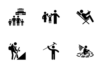 Pictograms Vector Pack 5 Icon Pack