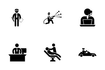 Pictograms Vector Pack 6 Icon Pack