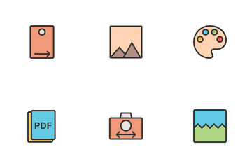 Picture Editing  Icon Pack
