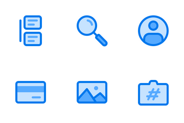 Picture Sharing Sites Icon Pack