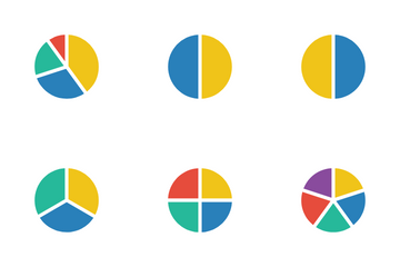 Pie Charts Icon Pack