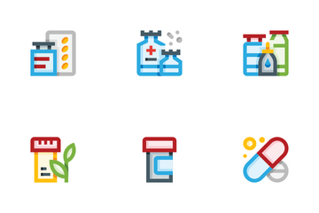 Pills Icon Pack