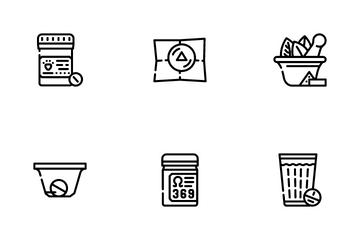 Pills Medicaments Icon Pack