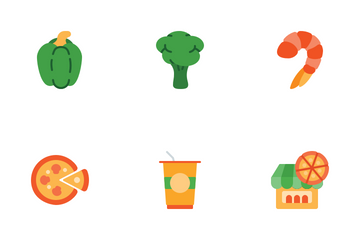 Pizza Ingredient Icon Pack