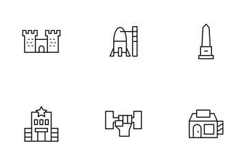 Place Thinline Icon Pack