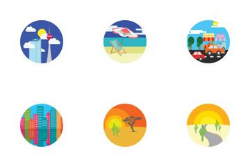 Places And Location Icon Pack