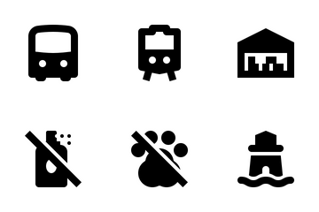 Places And Wayfinding Icon Pack
