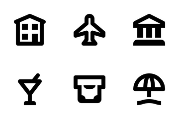 Places & Wayfinding Icon Pack