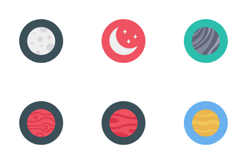 Planets Icon Pack