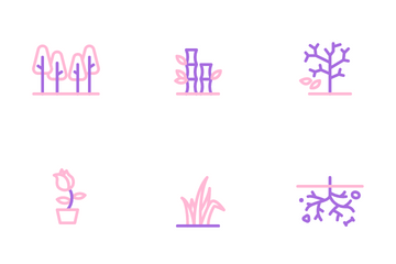Plant & Tree Icon Pack