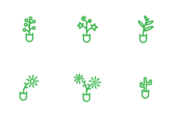 Plants Icon Pack