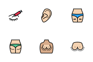 Plastic Surgery Icon Pack