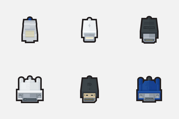 Plugs And Connectors Icon Pack