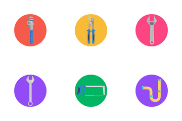 Plumbing Tools Icon Pack