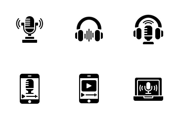 Podcast Icon Pack