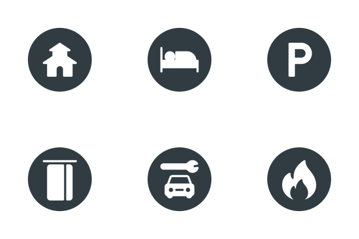 Point Of Interest  Icon Pack