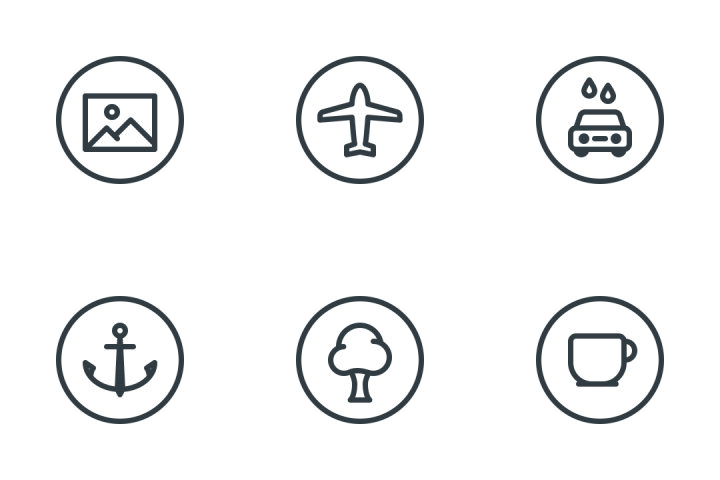Points Of Interest Icon Pack