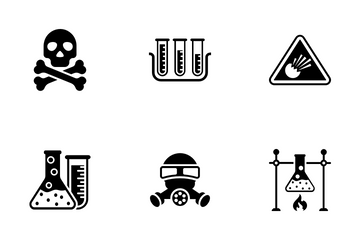 Poison Symbol - Solid Icon Pack