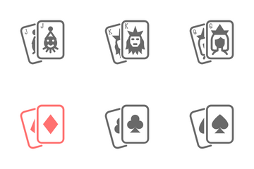 Poker Cards Icon Pack