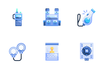 Police Elements Icon Pack