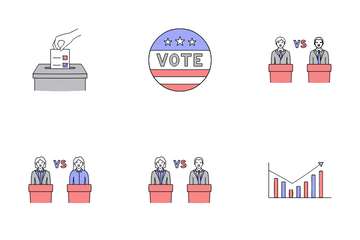 Politics And Election Icon Pack