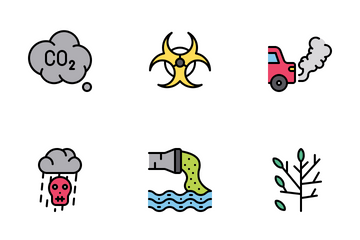Pollution Icon Pack