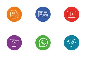 Popular Social Media Icon Pack