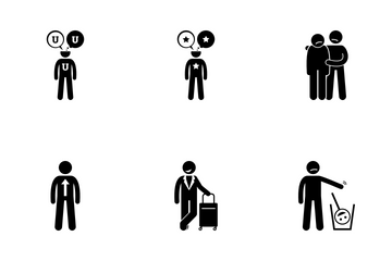 Positive Person Icon Pack