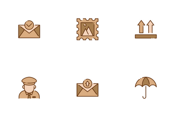 Postal Service Icon Pack