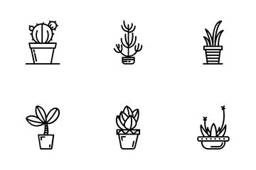 Pot Leaf Icon Pack