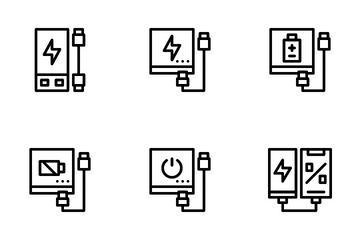 Powerbank Icon Pack