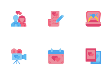Pre-wedding Icon Pack