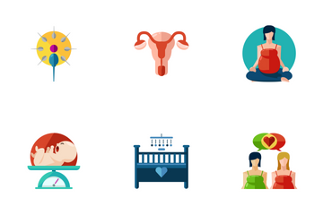 Pregnancy  Icon Pack