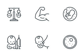 Pregnancy And Family Icon Pack