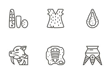 Prehistoric Elements Icon Pack