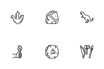 Prehistoric Period Icon Pack