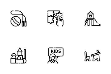 Preschool Education Icon Pack