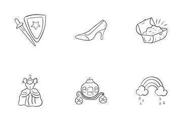 Princess And Fantasy Icon Pack