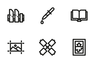 Print 3 Icon Pack