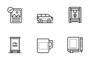 Printing Services Icon Pack